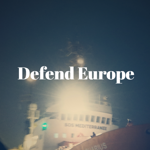 Kampagnenbild Defend Europe