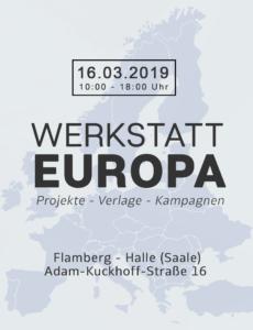 Werkstatt Europa Grafik nummer 3.1