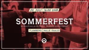 Sommerfest mit Lambda