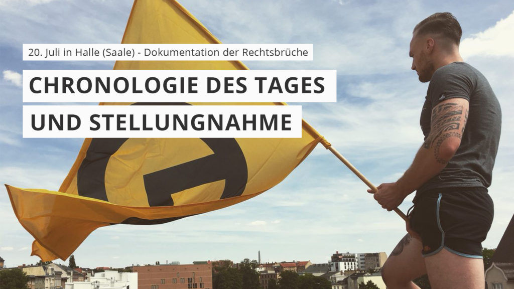 Chronologie des Tages Halle Saale